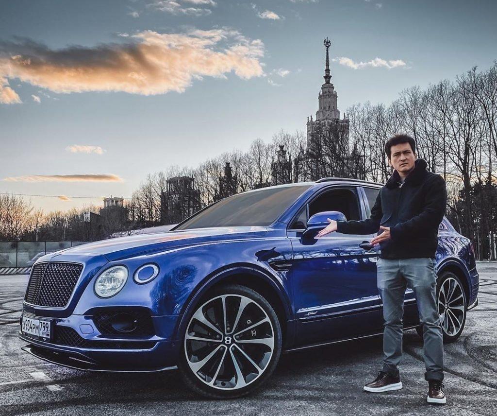 Тест драйв автомобиля Алан Енилеев
