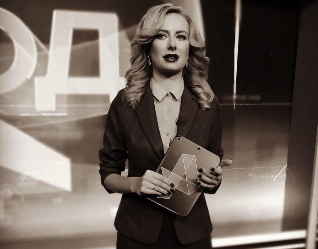 Алена Дюблюк в начале карьеры