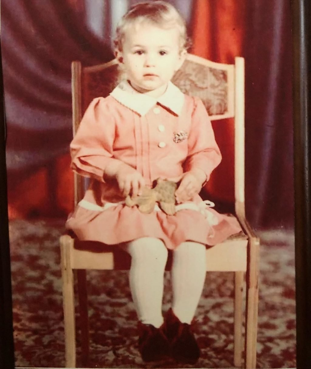Алина Засобина в детстве