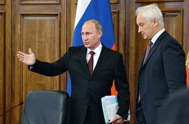 Андрей Белоусов и Владимир Путин