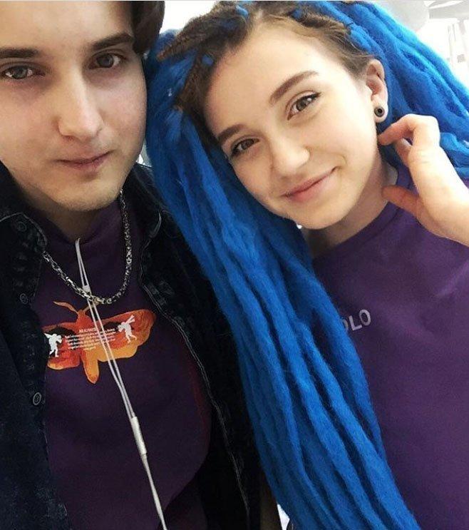 Богдан Кирса с девушкой