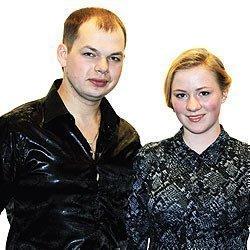 Алексей Брянцев с женой