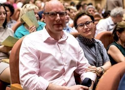 Дмитрий Чернышенко с женой
