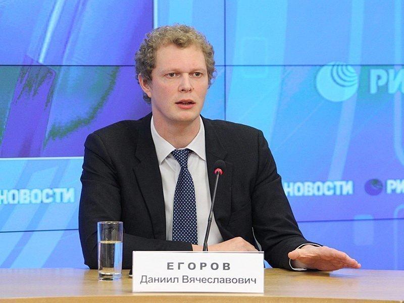 Даниил Егоров на конференции