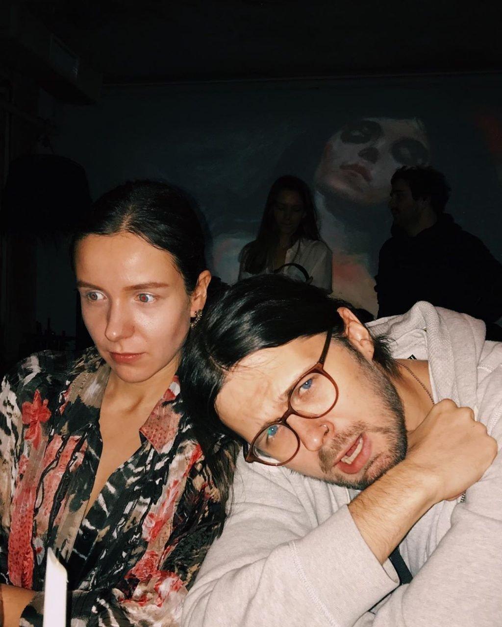 Евгений Калинкин и Лана