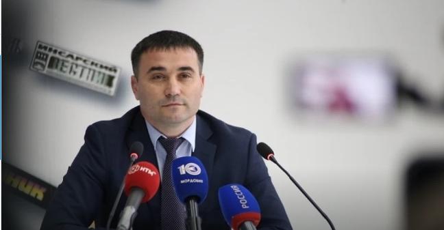 Олег Маркин - министр