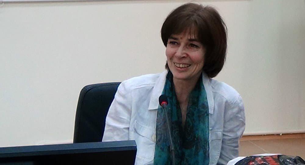 Ольга Четверикова на лекции