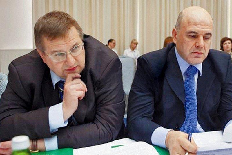 Алексей Оверчук и Мишустин
