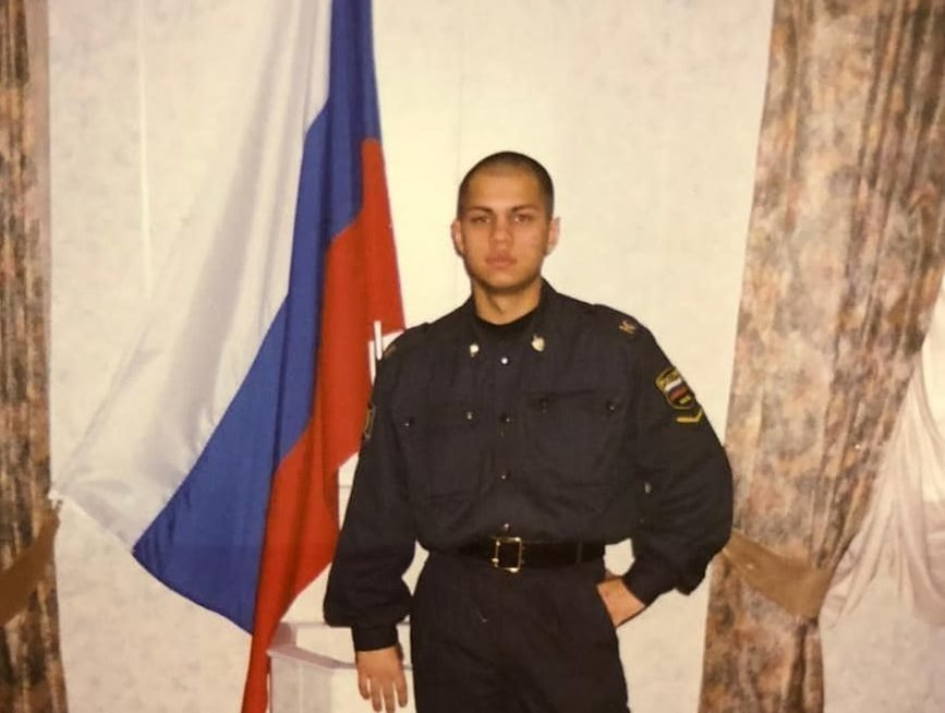 Роман Постовалов в армии