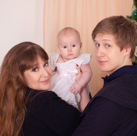 Юлия Стебунова, семья