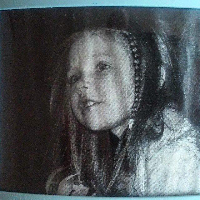 Алиса Супронова в детстве