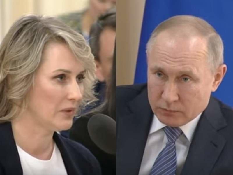 Татулова и Путин