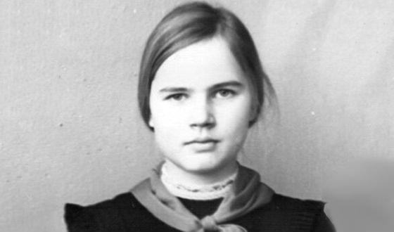 Татьяна Голикова в школьные годы фото