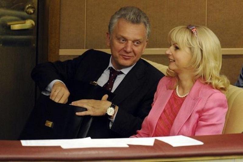Татьяна Голикова с мужем