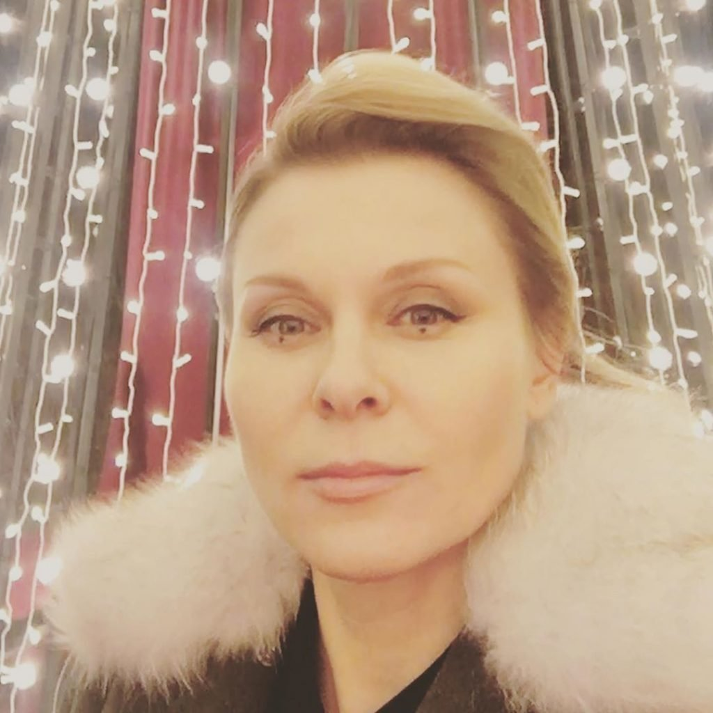 Актриса Юлия Троянова