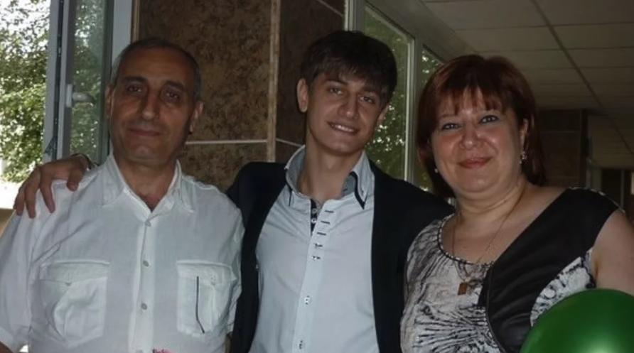 Родители блогера Давы М
