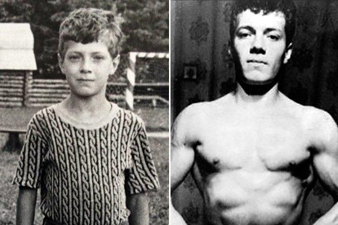Денис Семенихин в детстве