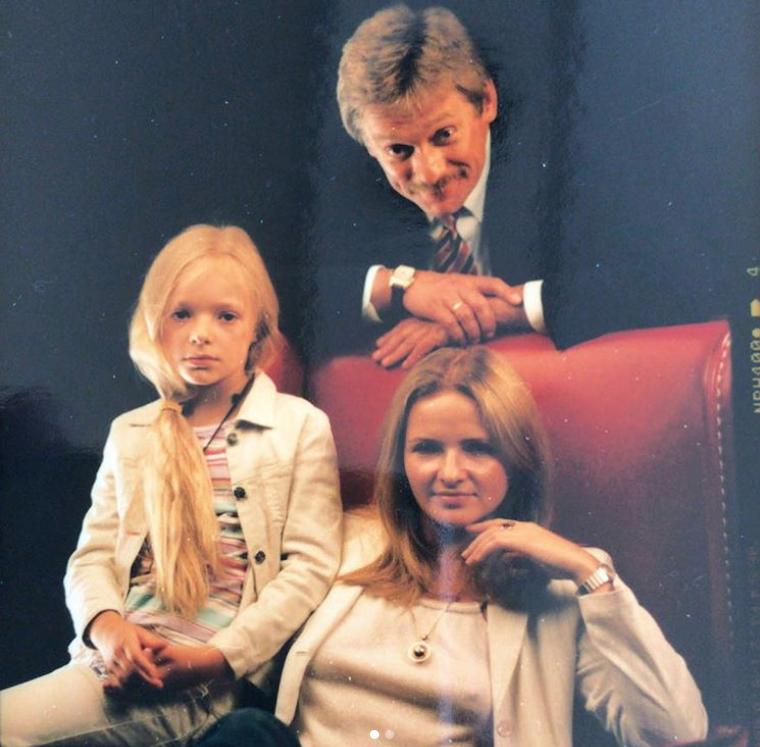 Лиза Пескова в детстве