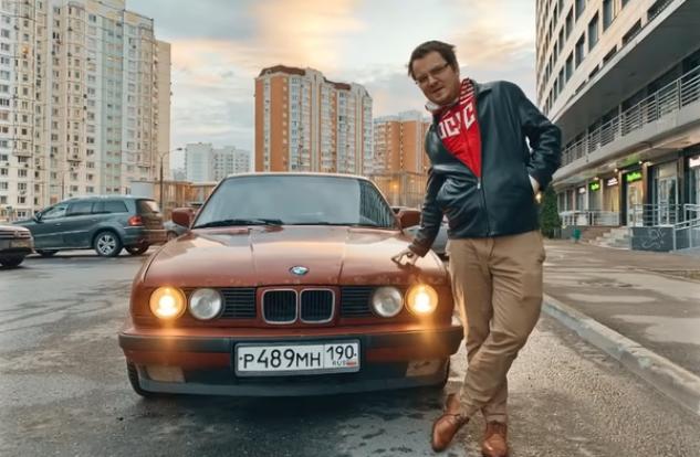 Илья Мэддисон с авто