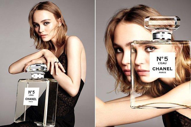 Лили-Роуз Депп в рекламе Шанель