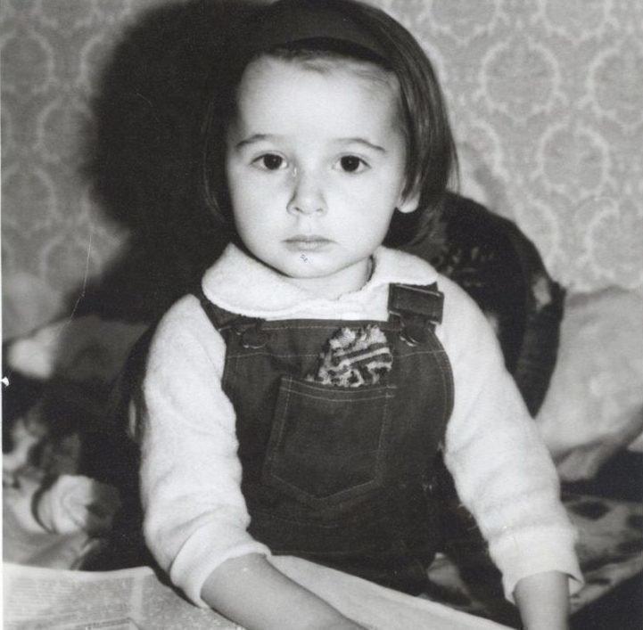 Даша Галимова в дестве
