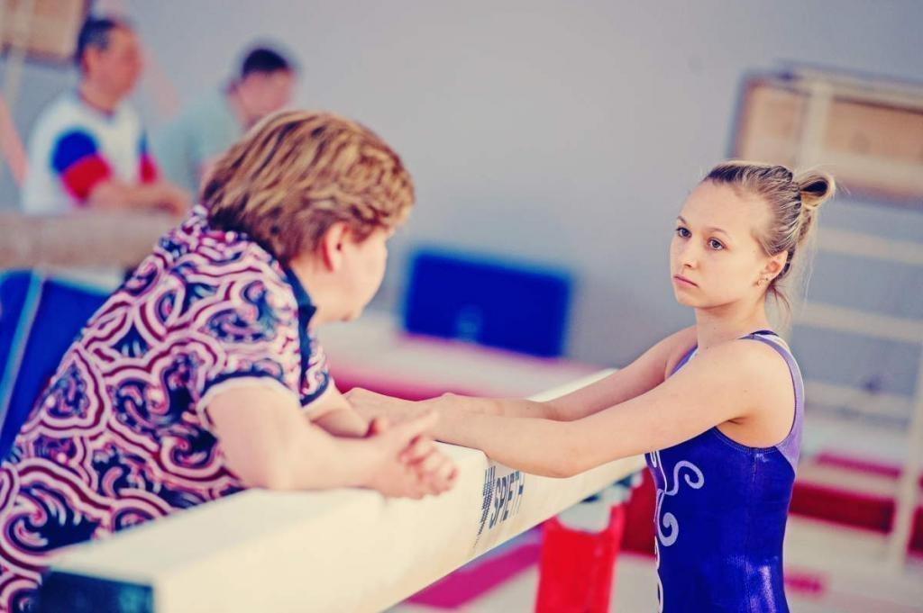 Дарья Спиридонова с тренером