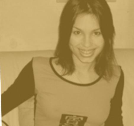 Лена Зосимова в юности