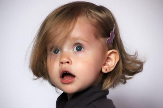 Вита Корниенко в 2 года
