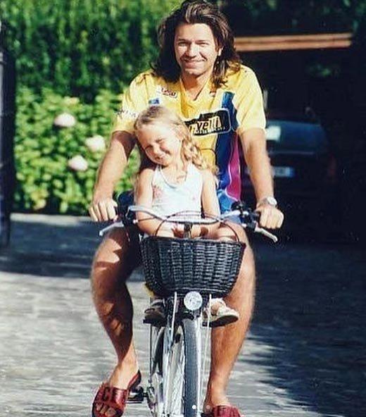 Стеша Маликова с отцом