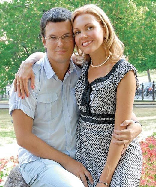 Татьяна Ремезова с мужем