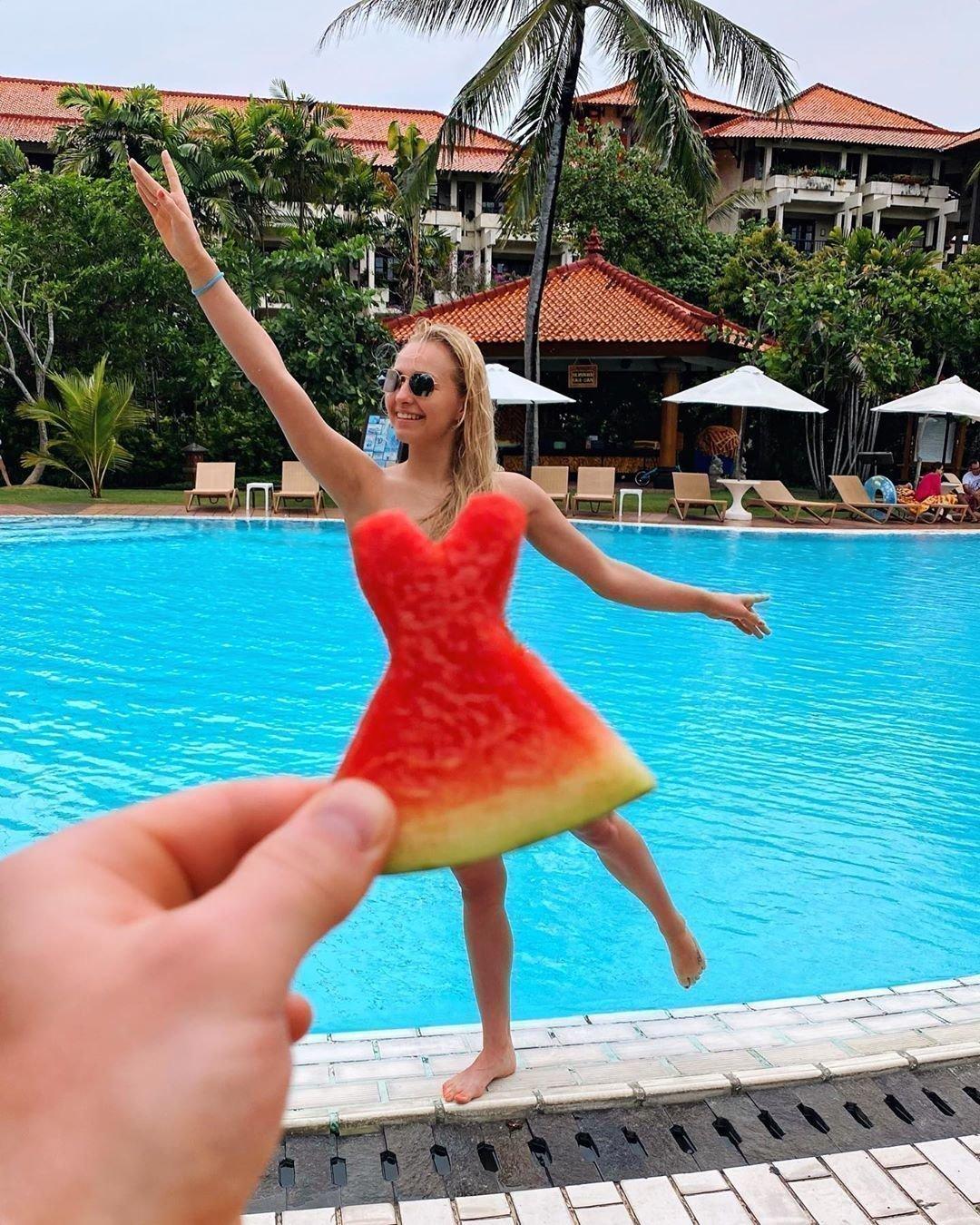 Дарья Спиридонова на Бали