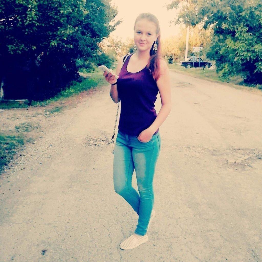Татьяна Ремезова в юности