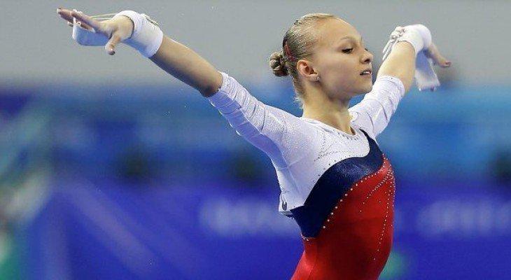 Первая победа Дарьи Спиридоновой