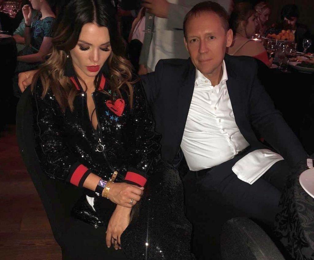 Ксения Луговая с мужем
