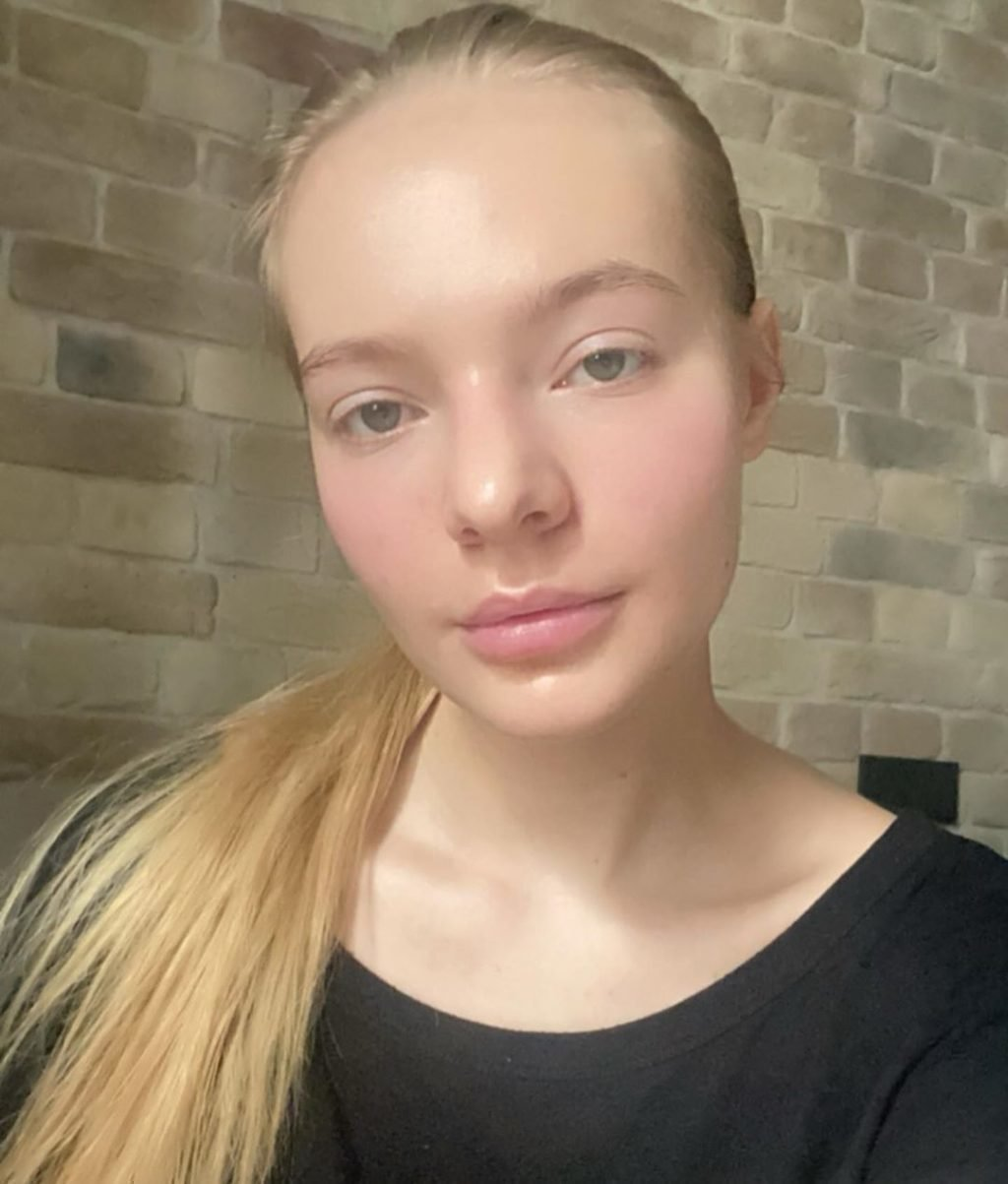 Лиза Пескова в студенческие годы
