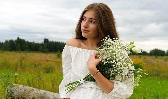 Внешность Марии Мельниковой