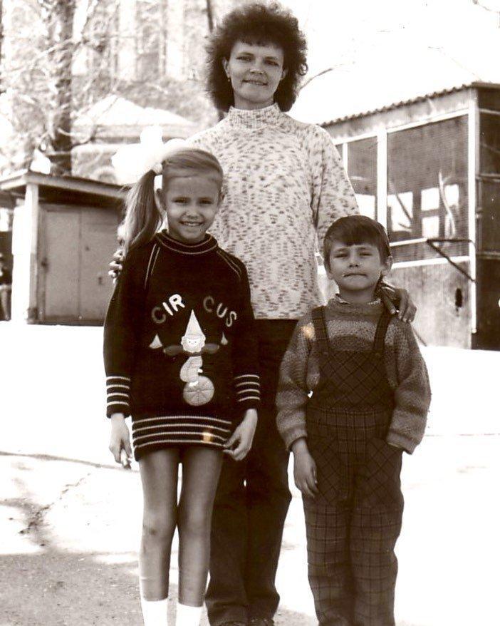 Наташа Поли с мамой