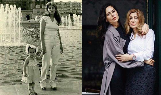 Сабина с мамой