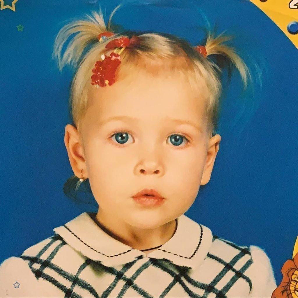 Соня Киперман в детстве