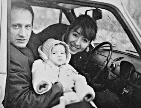Даша Галимова с родителями