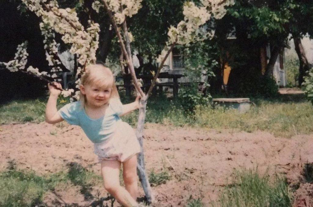 Вита Сидоркина в детстве