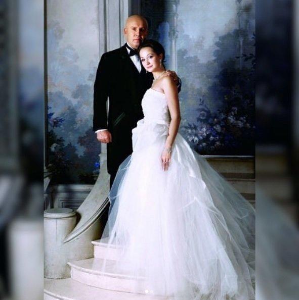 Свадебное фото Николая Разгуляева и Ольги Кабо