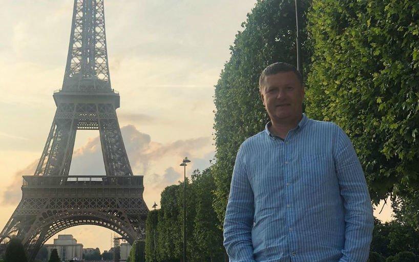 Кафельников в Париже