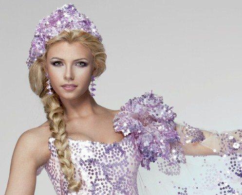 Костюм Кристины на конкурсе красоты