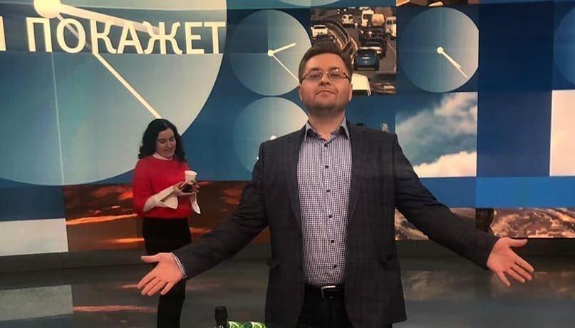 Андрей Никулин на передаче Время показывает
