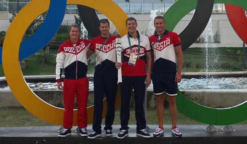 Александр Сухоруков на Олимпиаде
