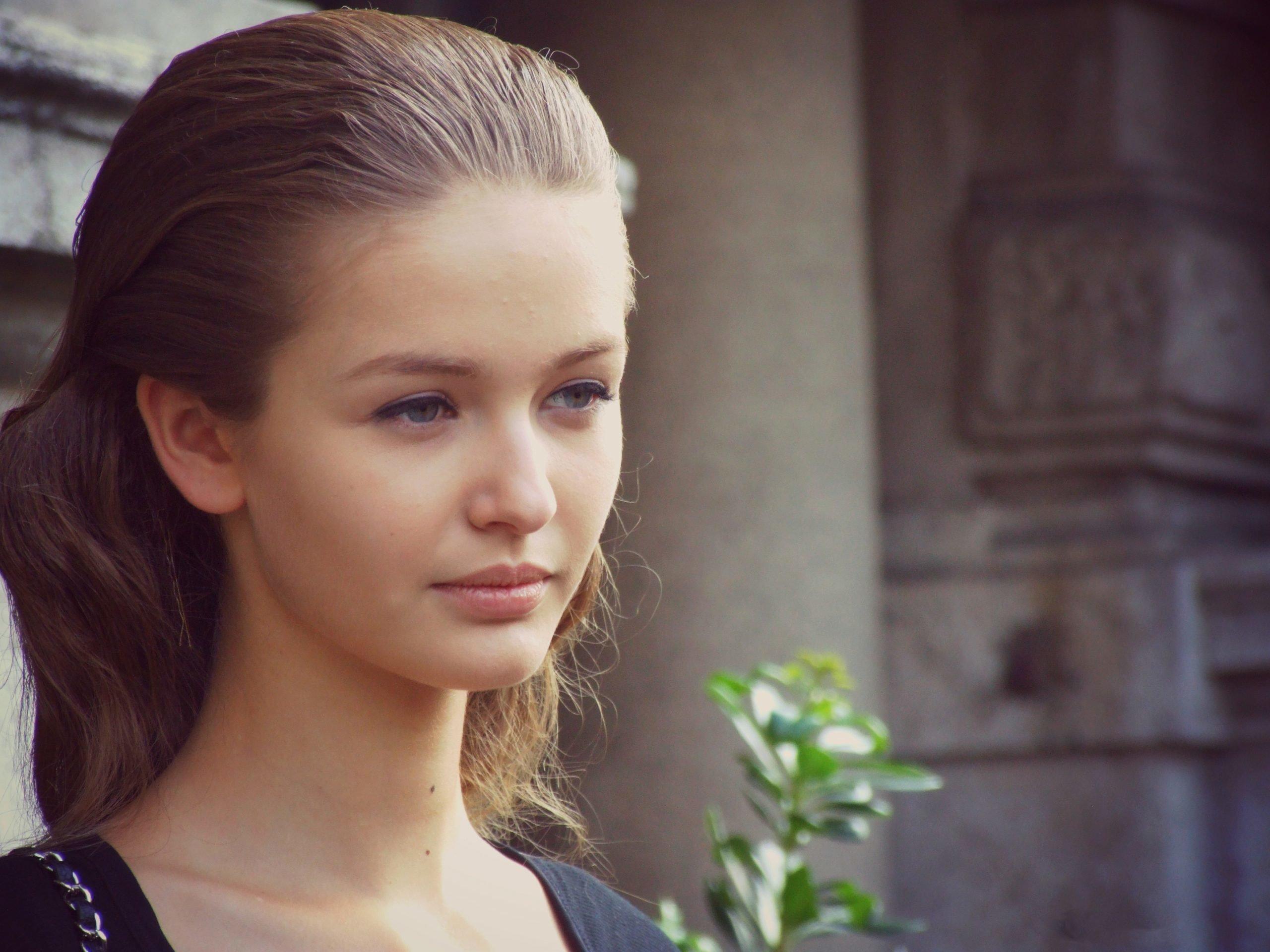 Кристина Романова в юности