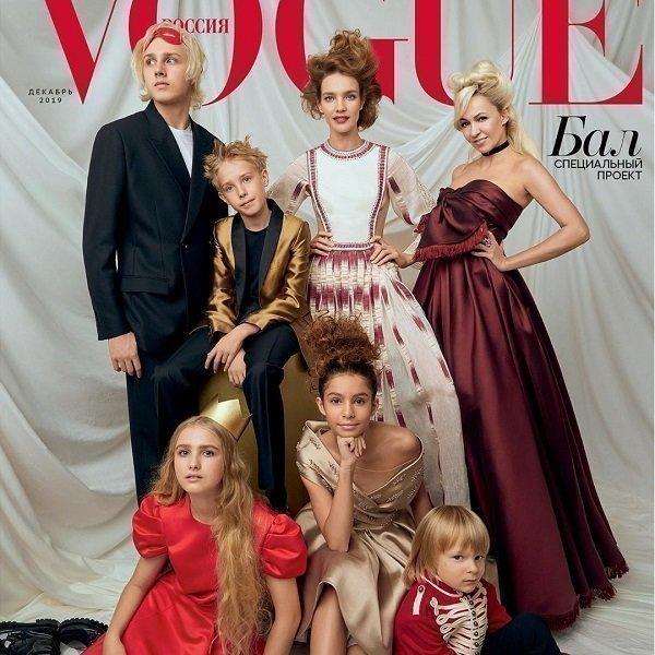 Обложка журнала Vogue с Алисой Бромстрем