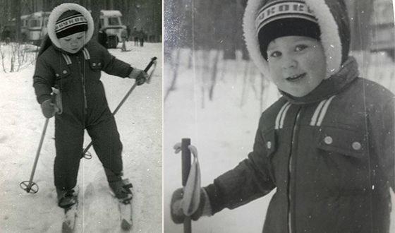Детские фото Дмитрия Комарова