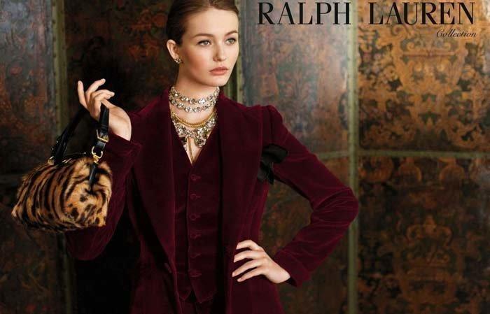 Кристина Романова в рекламе Ralph Lauren